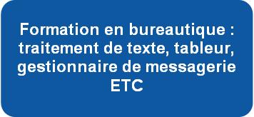 Formation en bureautique : traitement de texte, tableur, gestionnaire de messagerie ETC Dcouvrez les certifications PCIE en prsentiel ou  distance